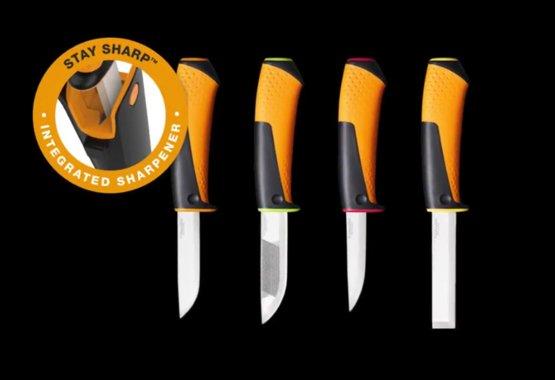 Нов асортимент ножове с вградено точило