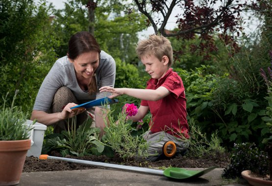 Градинарството е детска игра